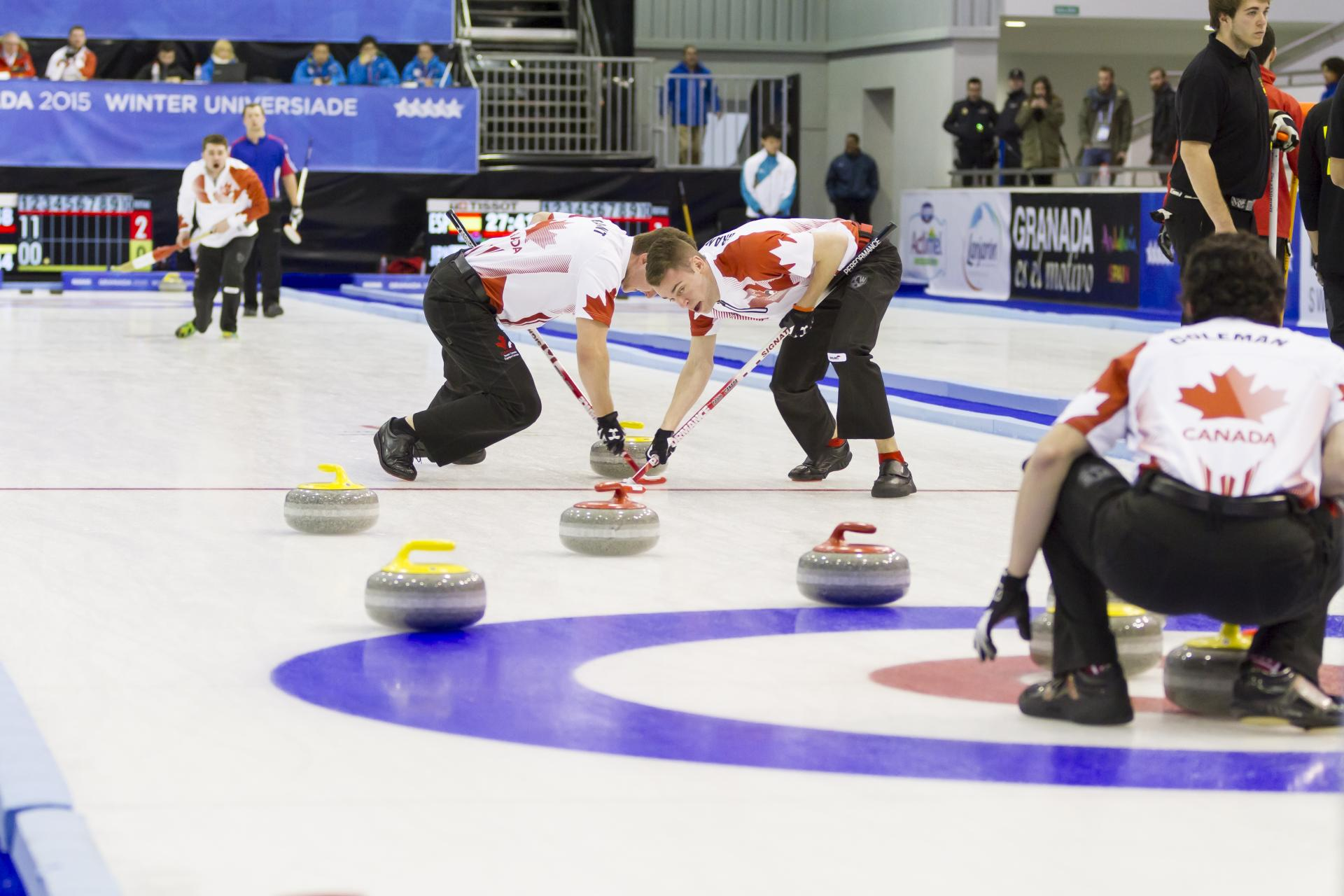 Curling Canadá