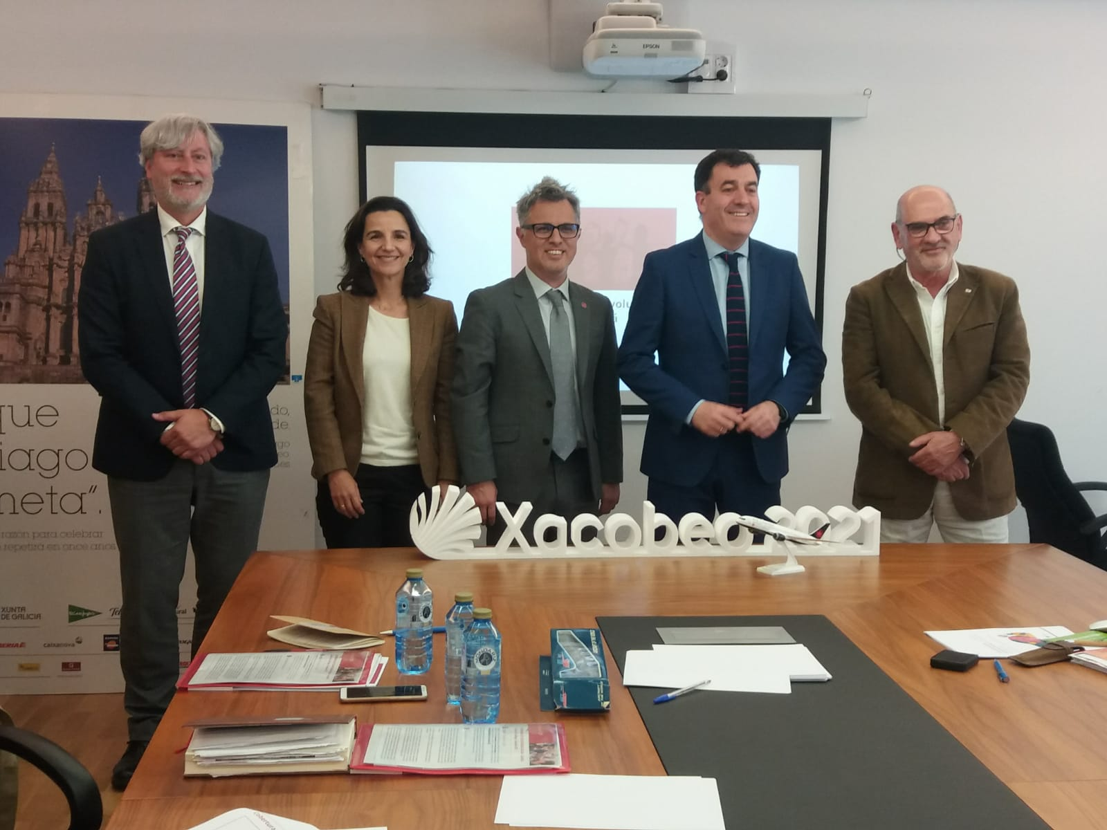 Xacobeo 2021 Red Leaf parte del proyecto